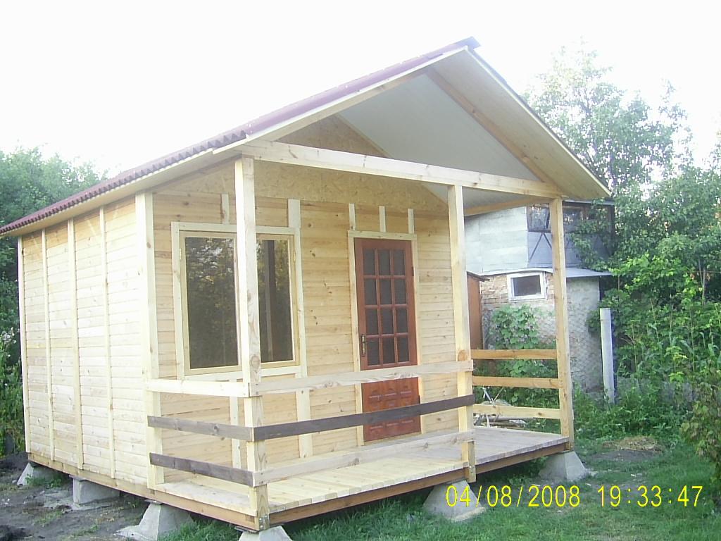 Дачный домик своими руками 5х5 86